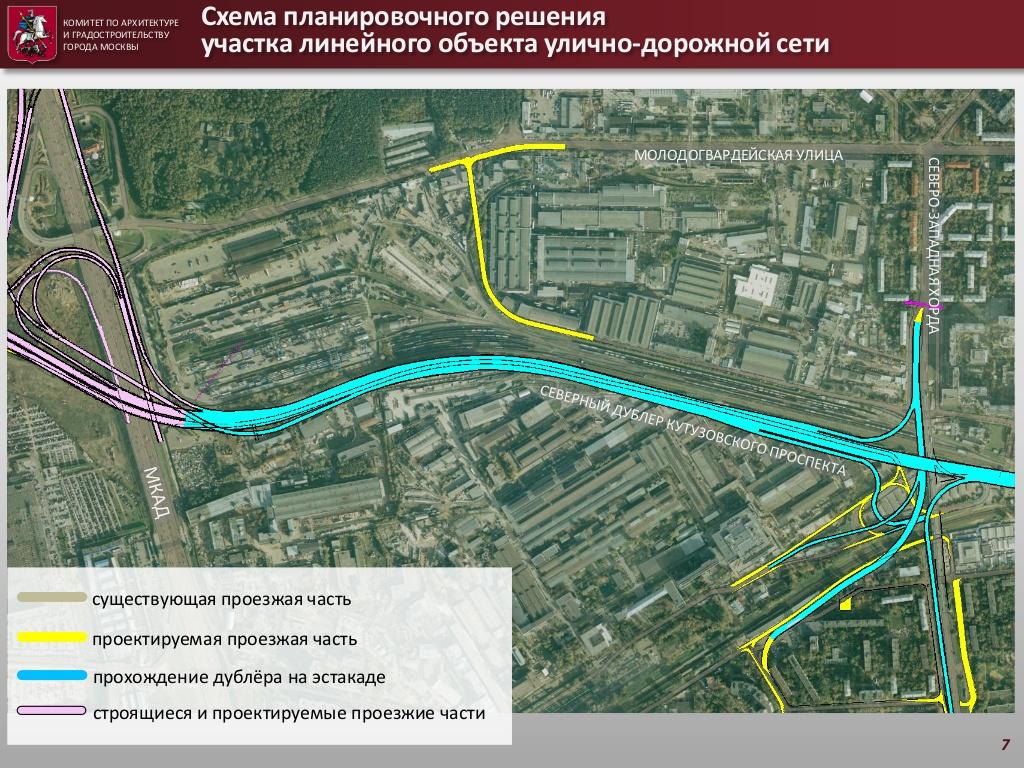 Дублёр кутузовского план схема