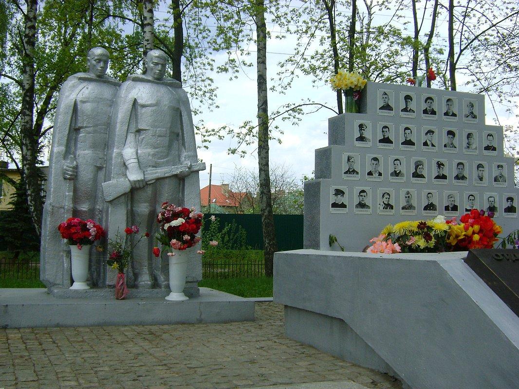 Картинки памятники воинам великой отечественной войны, дерево открытку