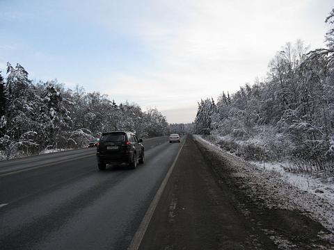 Фото зимняя дорога